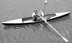 Sculling Skiff Plan & Patterns-boatdesign