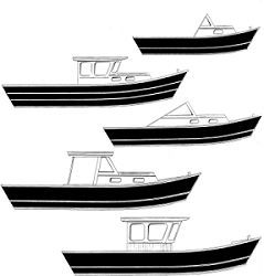 Dory-Cabin Plans - five dory cabin plans