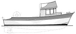 36' Dauntless - commercial work boat