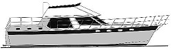44' Mirage - aft cabin motor yacht
