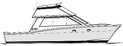 35' Sea Angler - convertible sportfisher-cruiser