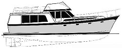 38' Andante - semi-displacement cruising yacht