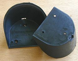 Sculling Heel Cups - Pair
