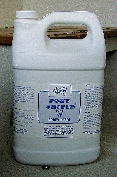 Poxy-Shield Resin Only for #2 Kit