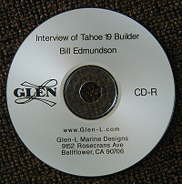 Interview of Tahoe 19 Builder Bill Edmundson