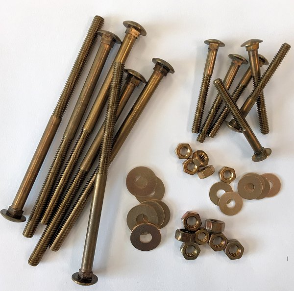 Zip Carriage Bolt Kit