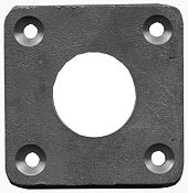 Rudder Stuffing Box Plate -  Bronze