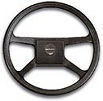 Uflex Thermoplastic 13 4-Spoke Wheel-Black