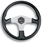 Uflex Corse Steering Wheel Silver/Black