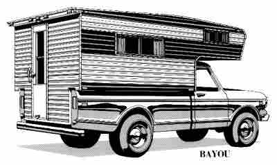 bayou Glen L RV Plans