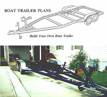 homemade boat trailer plans
