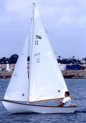 Bull's-Eye Sloop Sails